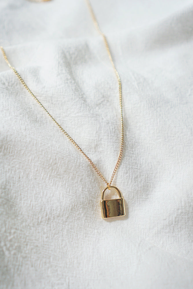 Amora Lock Necklace