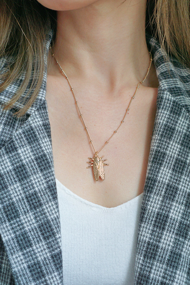Maven Bug Necklace