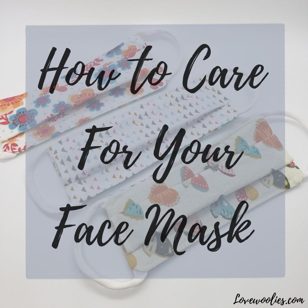 How to Wash Your Cloth Face Mask