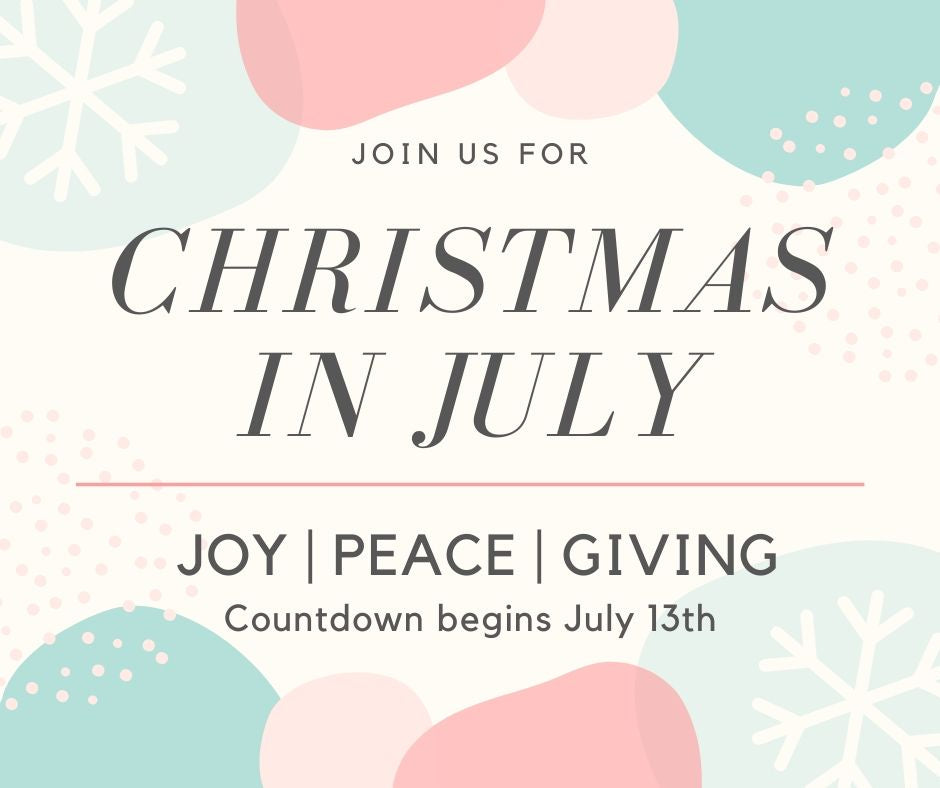 Join us for Joy in July
