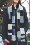 Wool Sweater Scarf | Warm by the Fire
