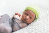 Cashmere Baby Beanie | Green Machine