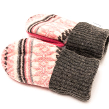 Fleece Lined Winter Mittens Love Woolies