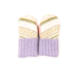Love Woolies Fleece Lined Wool Sweater Women's Winter Mittens