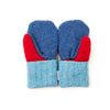 Large Kid's Wool Sweater Mittens | Box of Colors