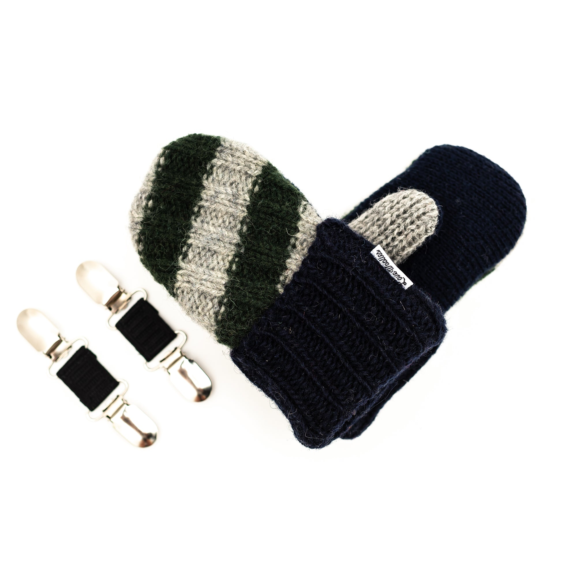 Small Kid's Wool Sweater Mittens | Tiny Tyke