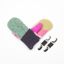 Love Woolies Wool Sweater Kid Mittens