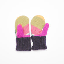 Small Kid's Wool Sweater Mittens | At the Playground