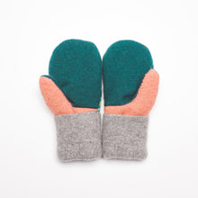 Small Kid's Wool Sweater Mittens | Colorful Candy
