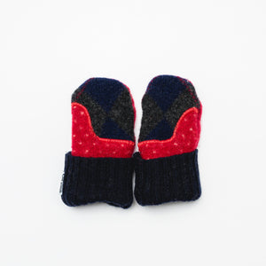 Baby Wool Sweater Mittens | Baby's First Christmas