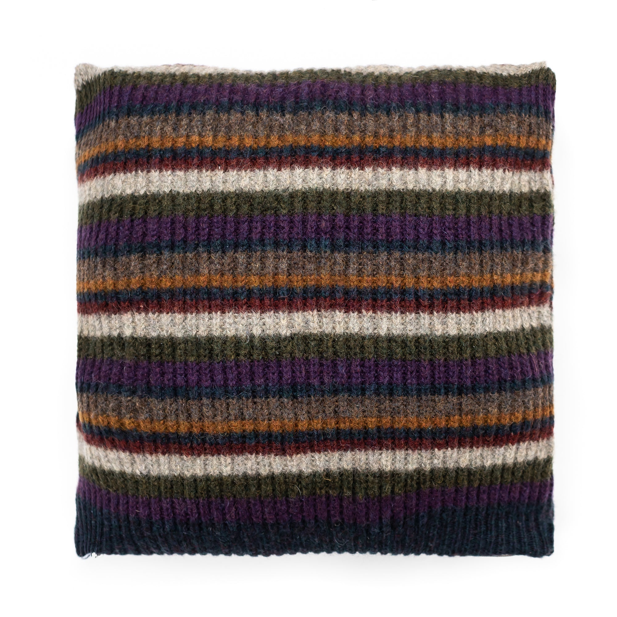 20x20 Striped Wool Pillow cover