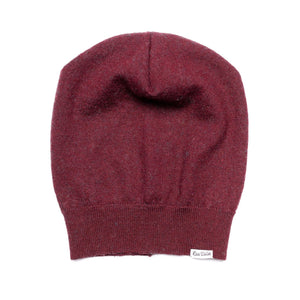 Maroon Love Woolies Sweater Slouch Beanie