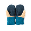 Small Kid's Wool Sweater Mittens | Besties