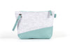 Wool Clutch - Teal