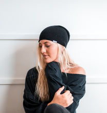 Sweater Slouch Beanie | A Stormy Night