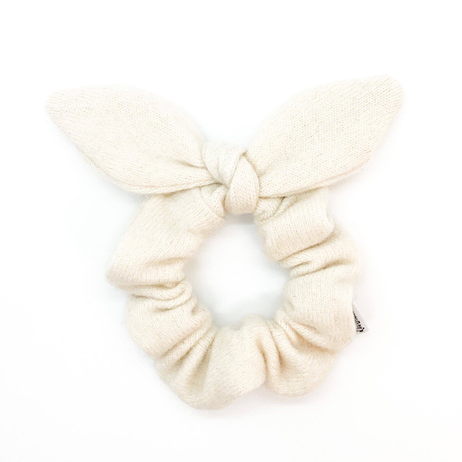 neutral scrunchie