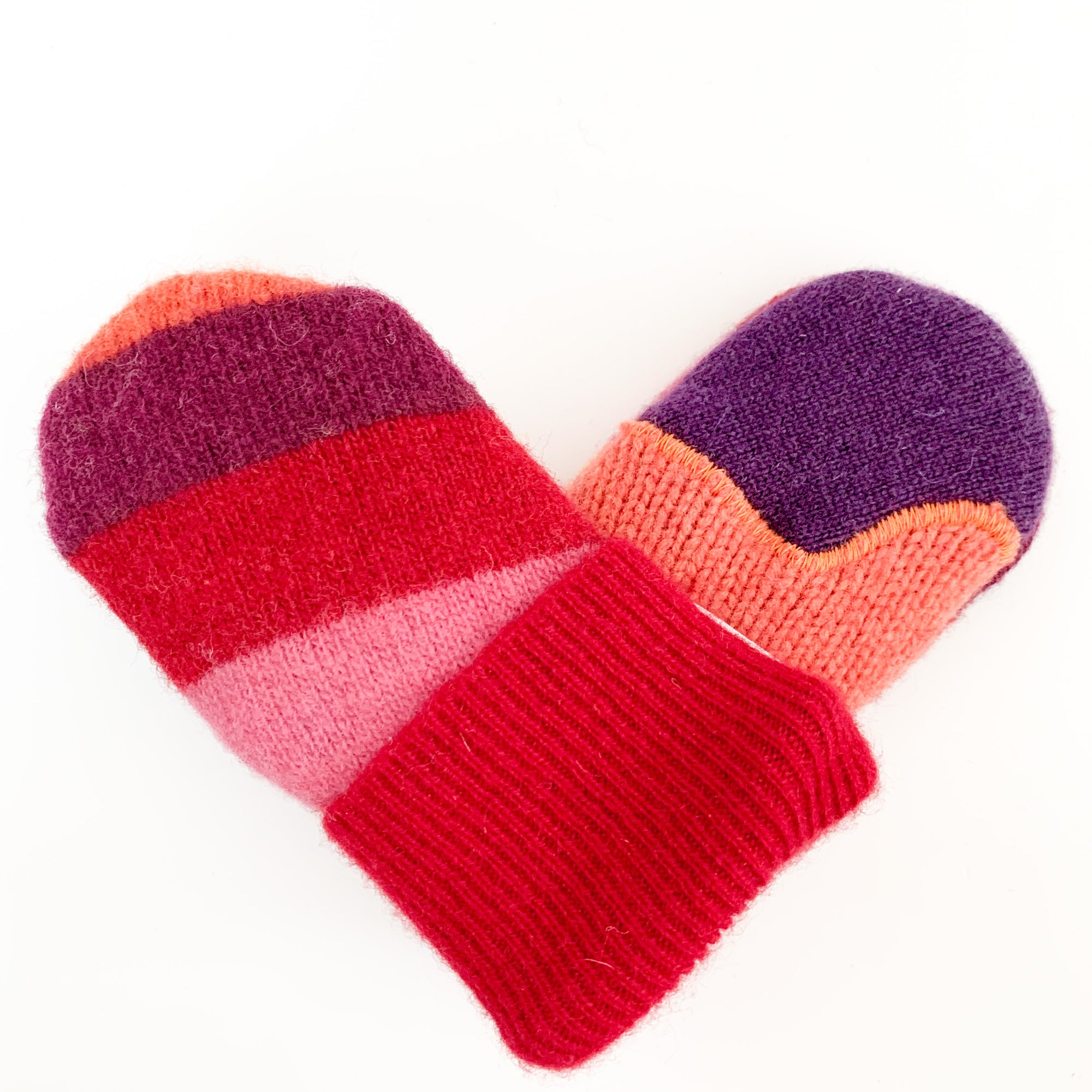 Baby Wool Sweater Mittens | Little Valentine