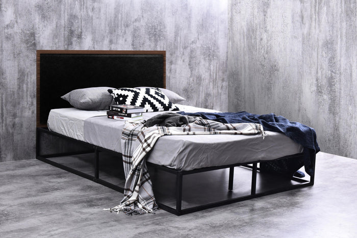 PU leather platform bed (Discount price for a small defect)