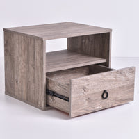 Roco Bedside Table, Alaska Oak