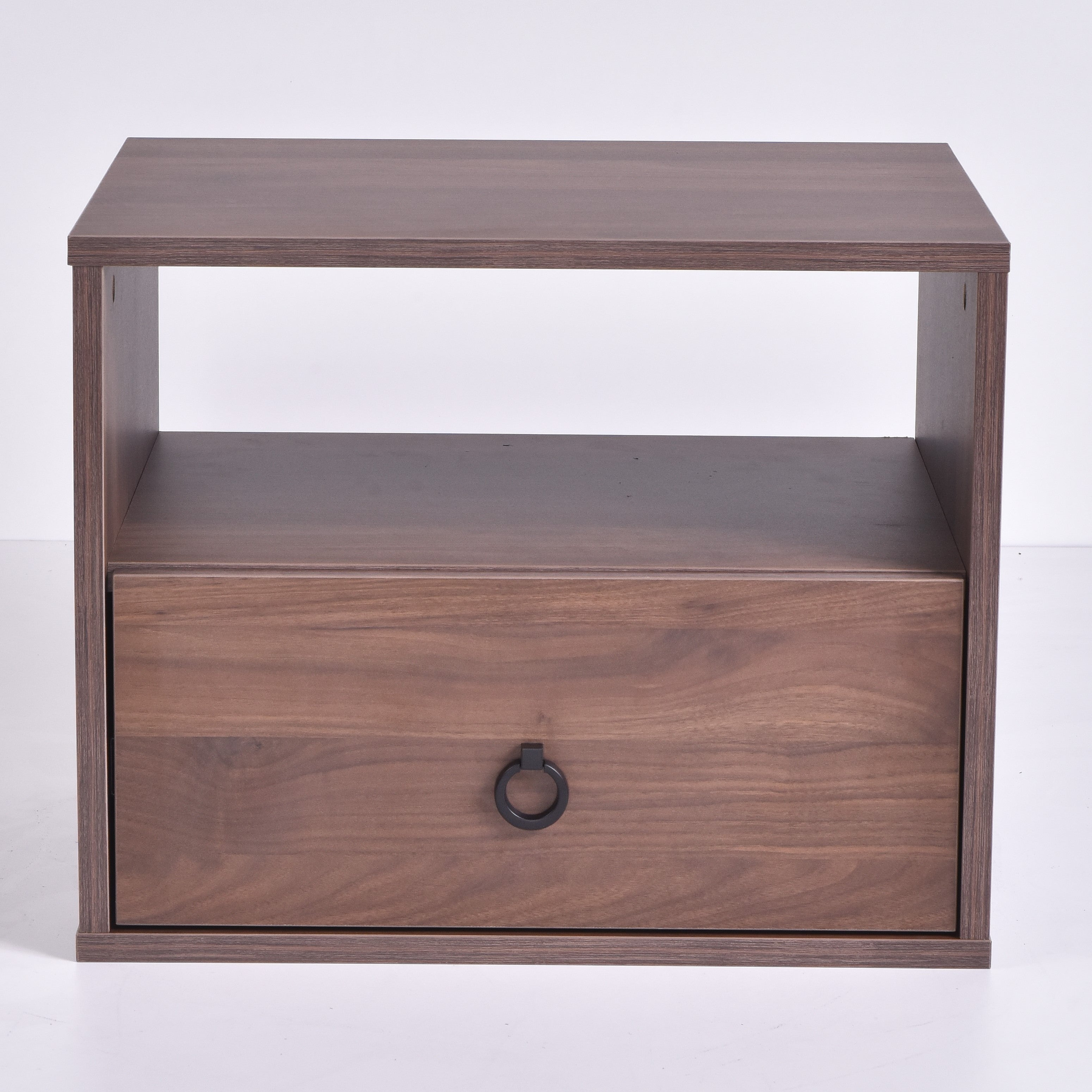 Roco Bedside Table, Columbia Walnut