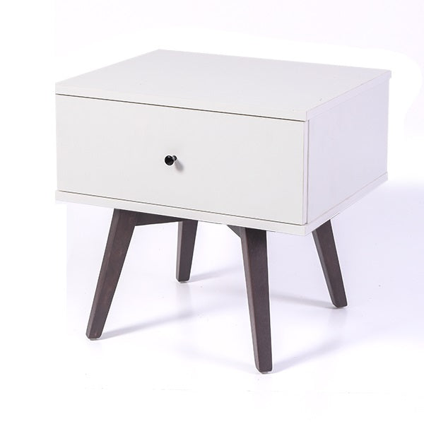 Miranda bedside table, white