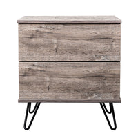 Corva bedside table, alaska oak