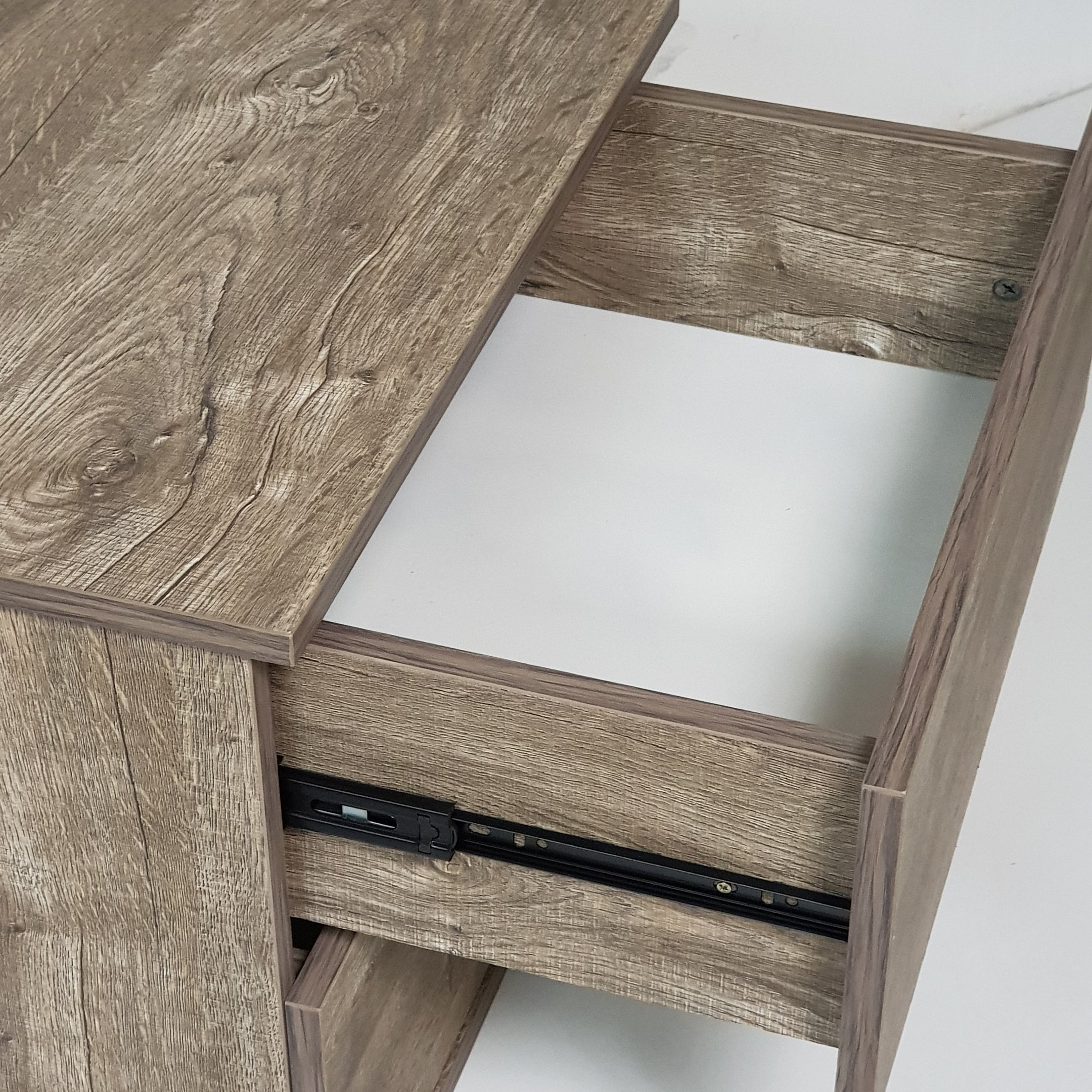 Jupiter bedside table, alaska oak