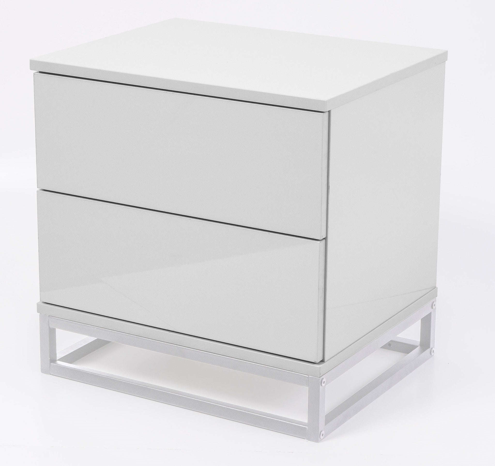 Margo bedside table, white