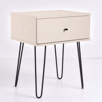 Ashe Bedside Table, UV Khaki