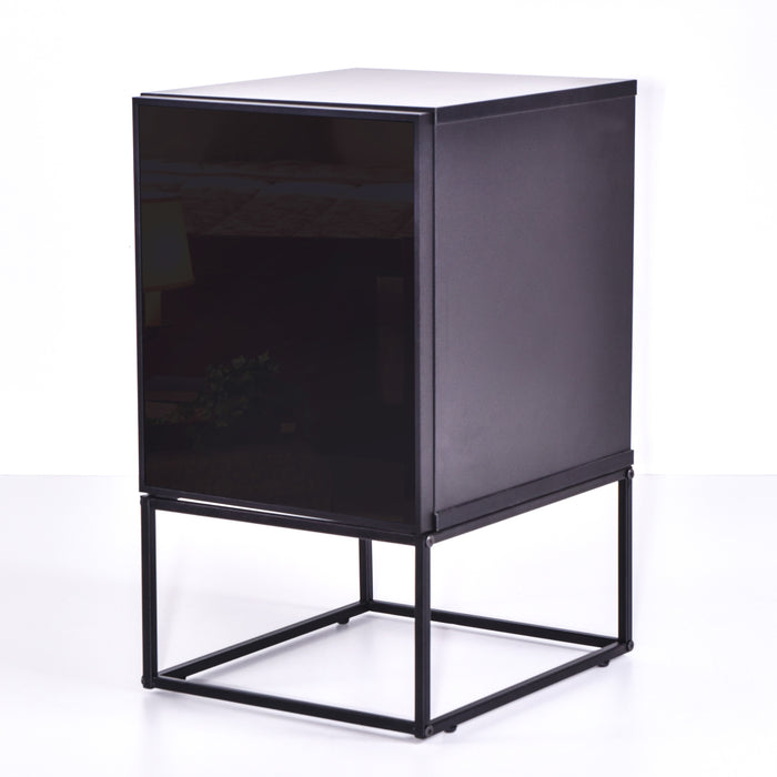 Avery Bedside Table, Black