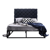 MG platform bed, dark grey