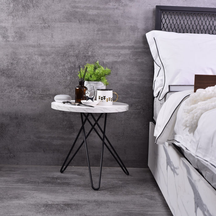 Samson Side Table, Marble