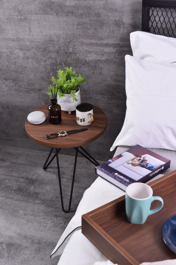 Samson Side Table, Columbia walnut