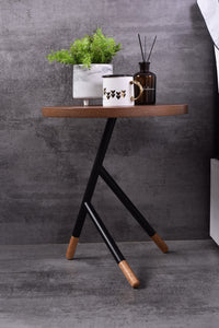 Ent Side Table, Columbia walnut