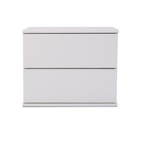 Jupiter bedside table, white