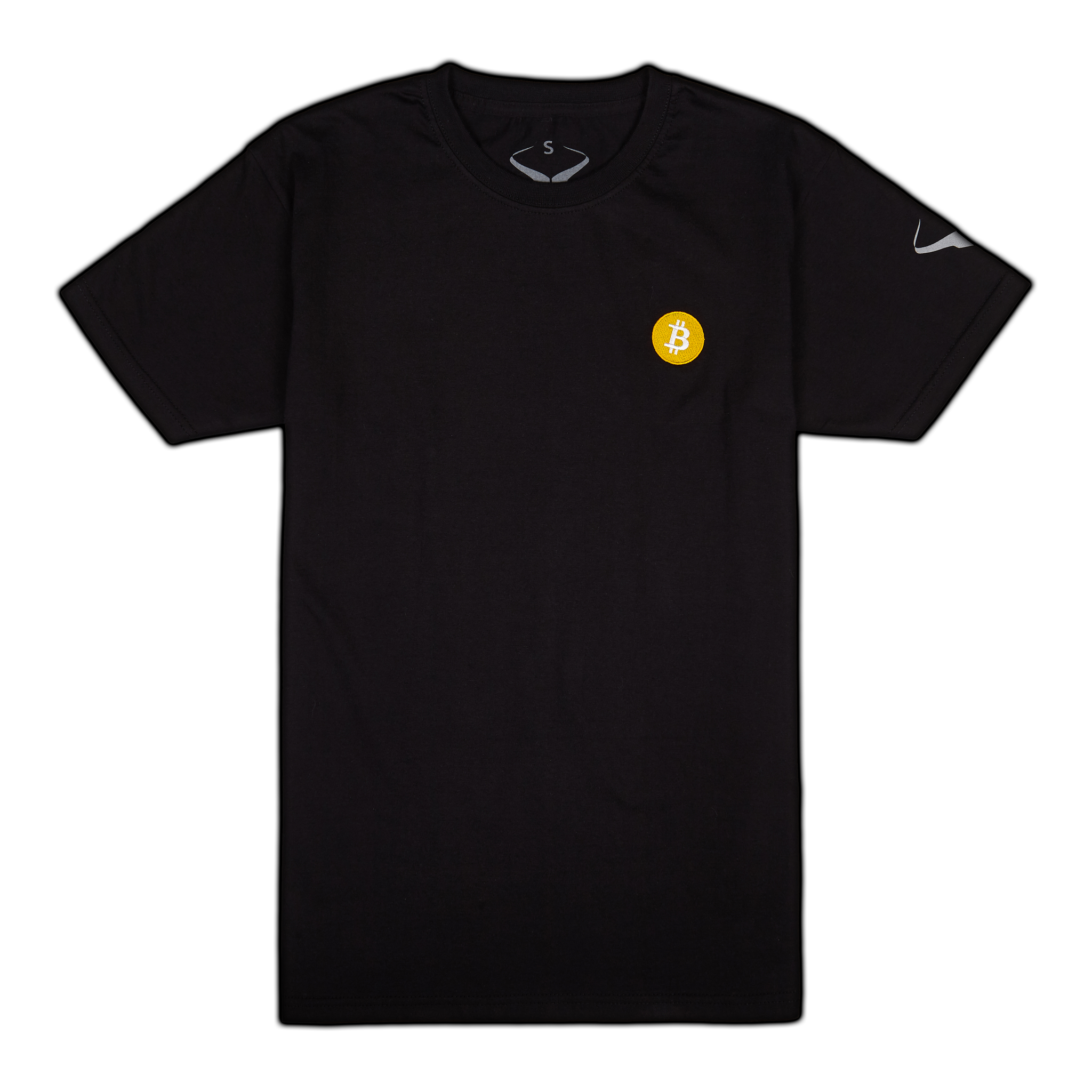 DIgital Gold BTC Embroidery Tee