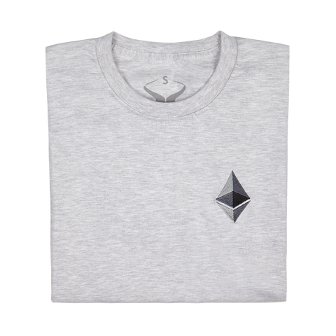 Short Sleeve Ethereum Embroidery Tee
