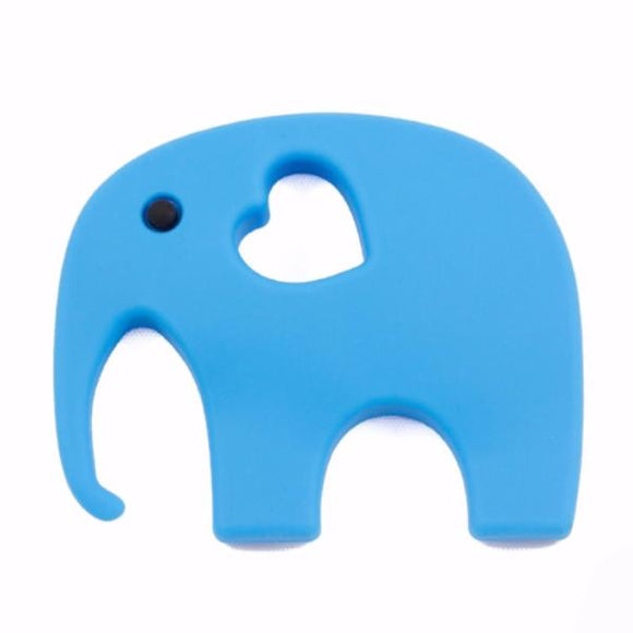 Dentition Elephant Bleu