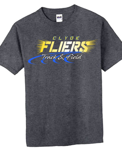 A | T-Shirt | Clyde Fliers Track