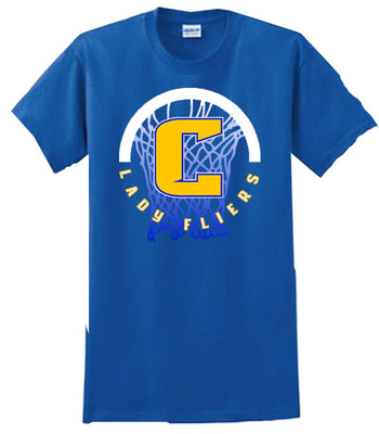 A | T-Shirt | Clyde Girls Basketball