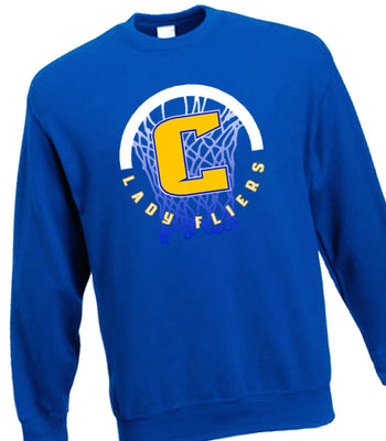 C | Crew Sweatshirt | Clyde Girls Basketball
