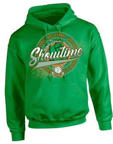 D | Hooded Sweatshirt | Showtime Volleyball