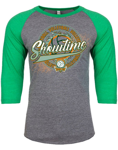 I | 3/4 Sleeve Soft T-Shirt | Showtime Volleyball
