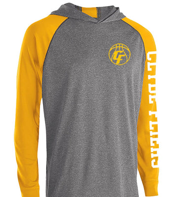 J | Mens Perf Hoody Shirt | Clyde Girls Basketball