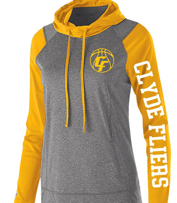 K | Ladies Perf Hoody Shirt | Clyde Girls Basketball