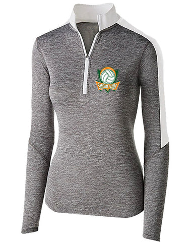L | Ladies Perf 1/4 Zip | Showtime Volleyball