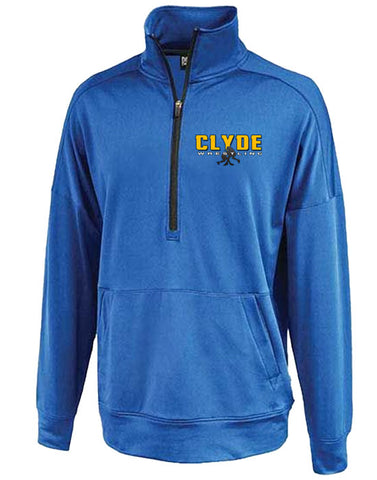 N | Mens Perf 1/4 Zip | Clyde Fliers Wrestling