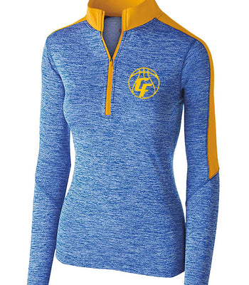 O | Ladies Perf 1/4 Zip | Clyde Girls Basketball