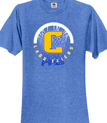 P | Soft Style T-Shirt | Clyde Girls Basketball