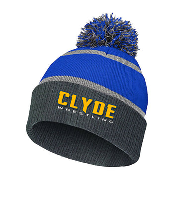 Q | Knit Hat | Clyde Fliers Wrestling